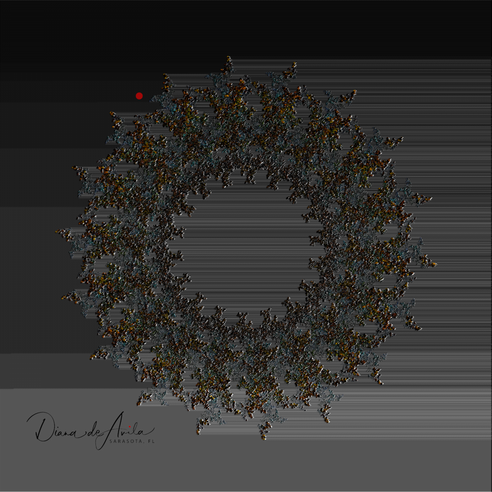 Abstract Wreath