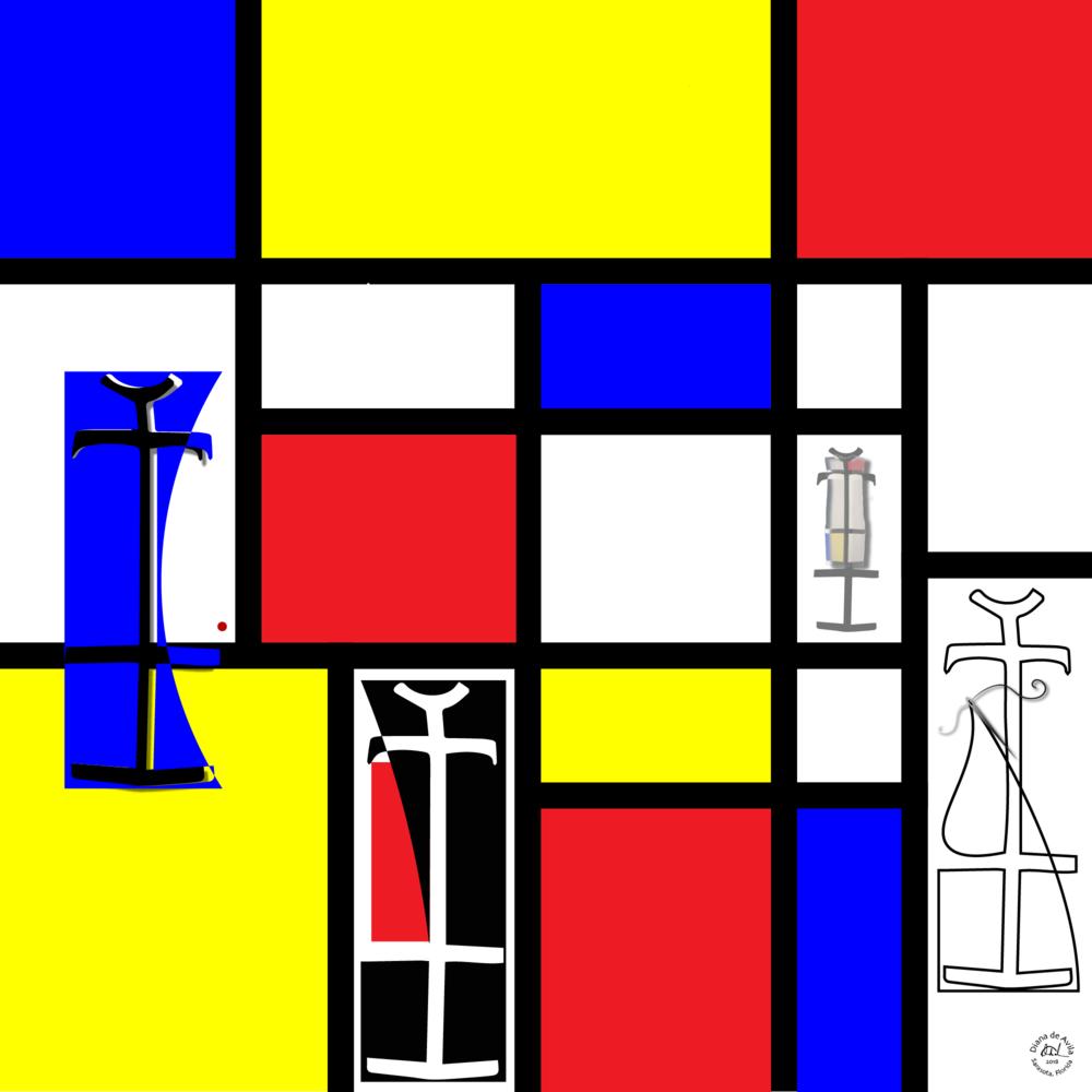 Dressing Mondrian