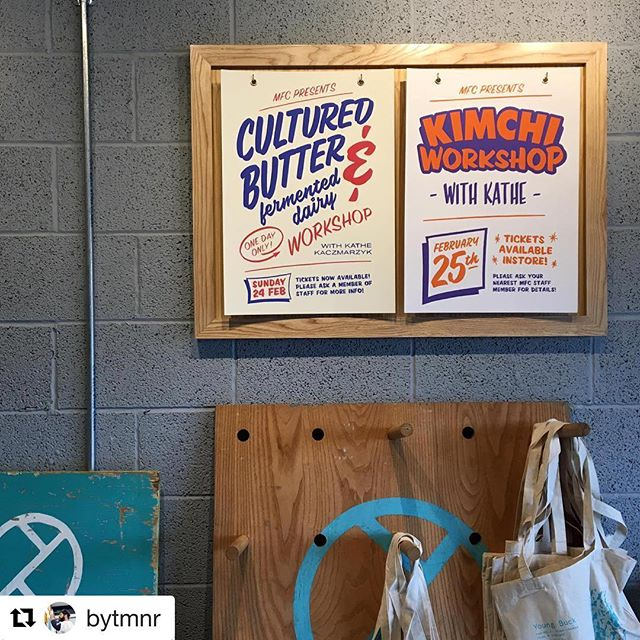 Hands down some of the coolest posters I've ever seen designed for some of my workshops by @bytmnr ! (@sandorkraut but your newest one still ranks supreme) Tickets are available for both of these bad boys taking place at the end of February in Belfast at @wheresthatjoebuck 's new cheese shop! Please contact @wheresthatjoebuck for tickets or if you're close by #pop #into #the #shop!