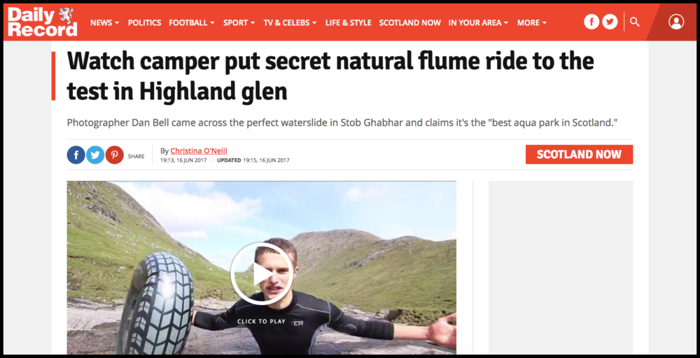Daily Record Article
