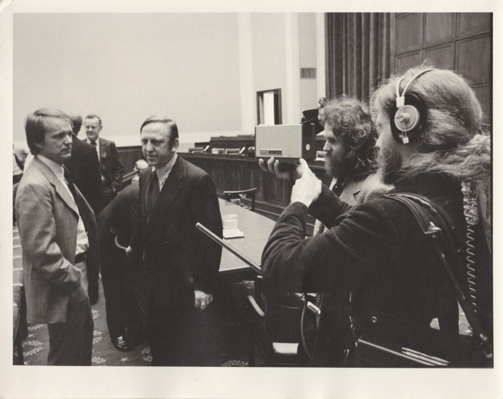 TVTVs Skip Blumberg films Congressional AFI hearing (1994)