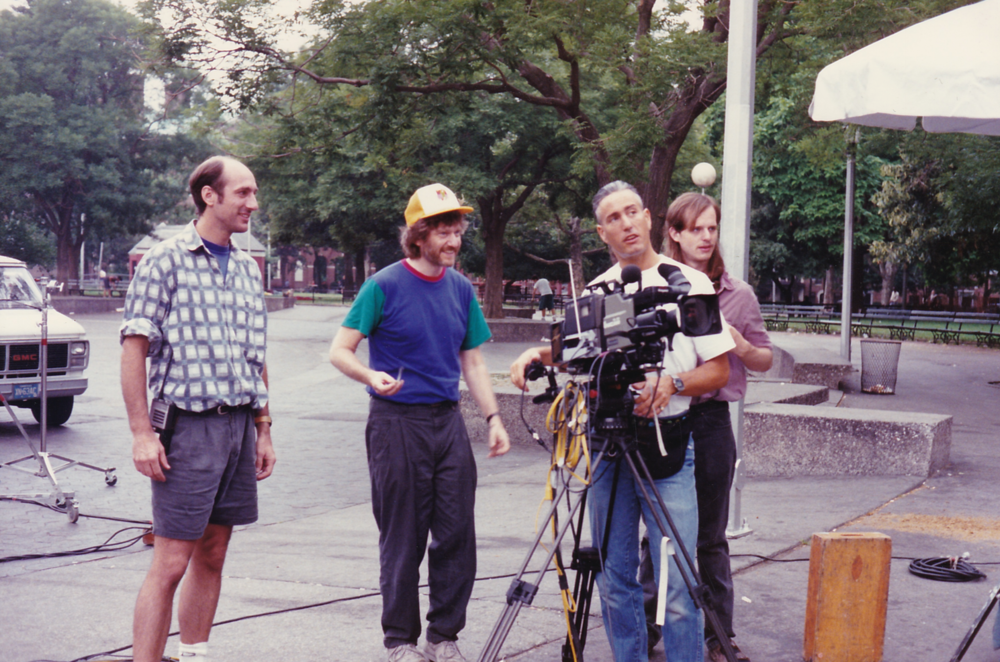 """Skip on location for """"In Motion with Michael Moshen"""" with cinematographer Bill Marpet"""