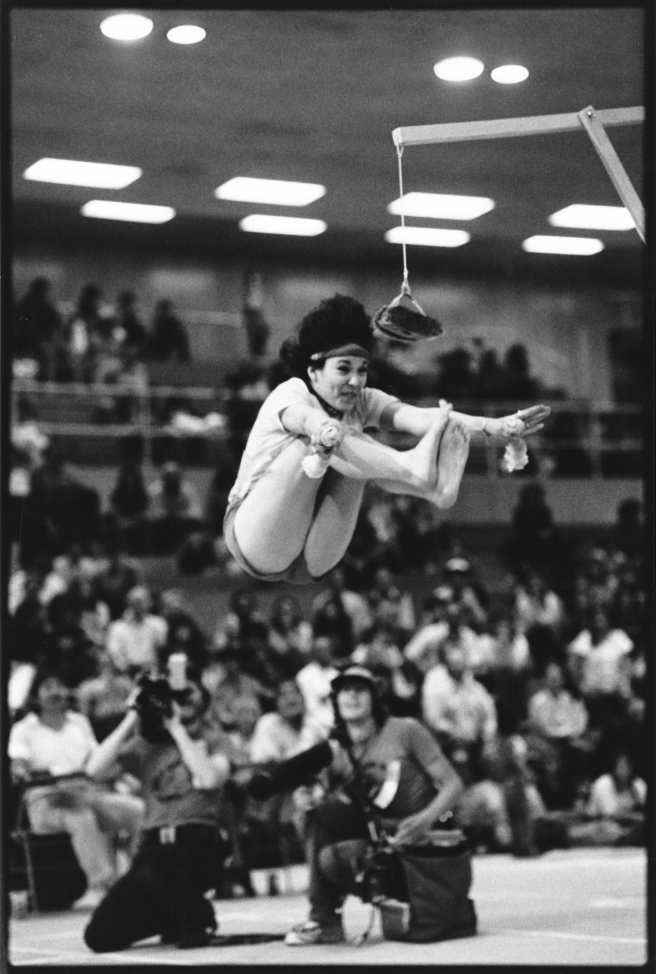 Skip and Documentary Crew at the World Eskimo-Indian Olympics (1983)