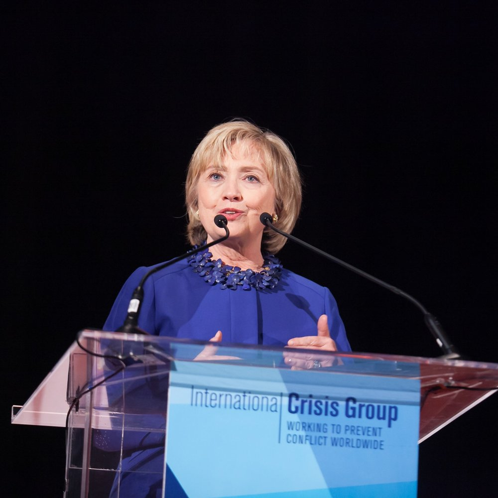 International Crisis Group Honors Hillary Clinton