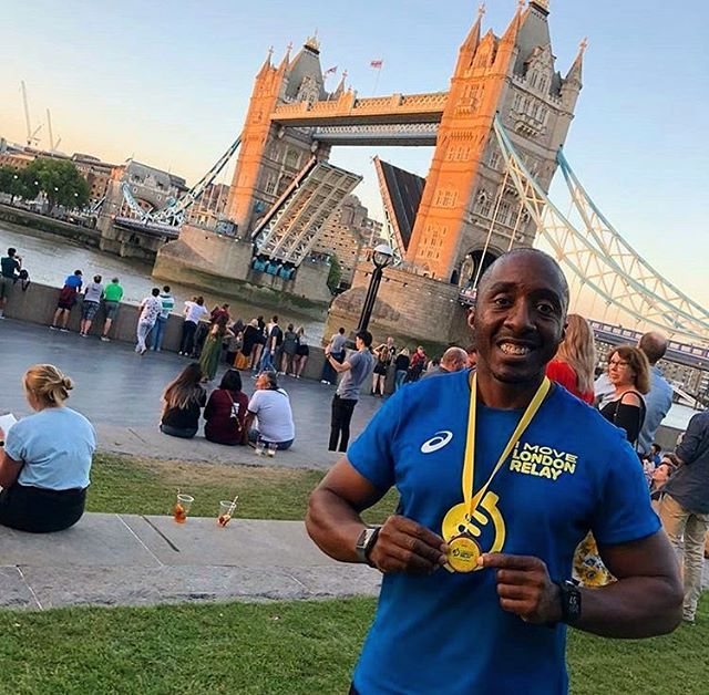Happy #medalmonday to @besmartgetfit and everyone else who managed to run in this hot hot heat in London over the weekend ☀️☀️☀️ #runlondon #runtheworld