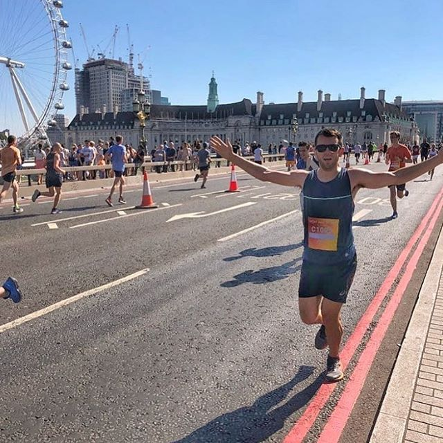 Congrats to @sprintkitchen and everyone else who finished the British 10km yesterday in this hot hot ☀️#medalmonday #runlondon #runtheworld