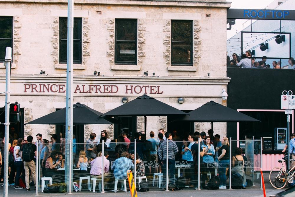 Prince Alfred Carlton street seating
