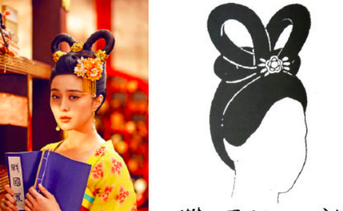 Ch 76 - shuang huan wang xian hairstyle.png