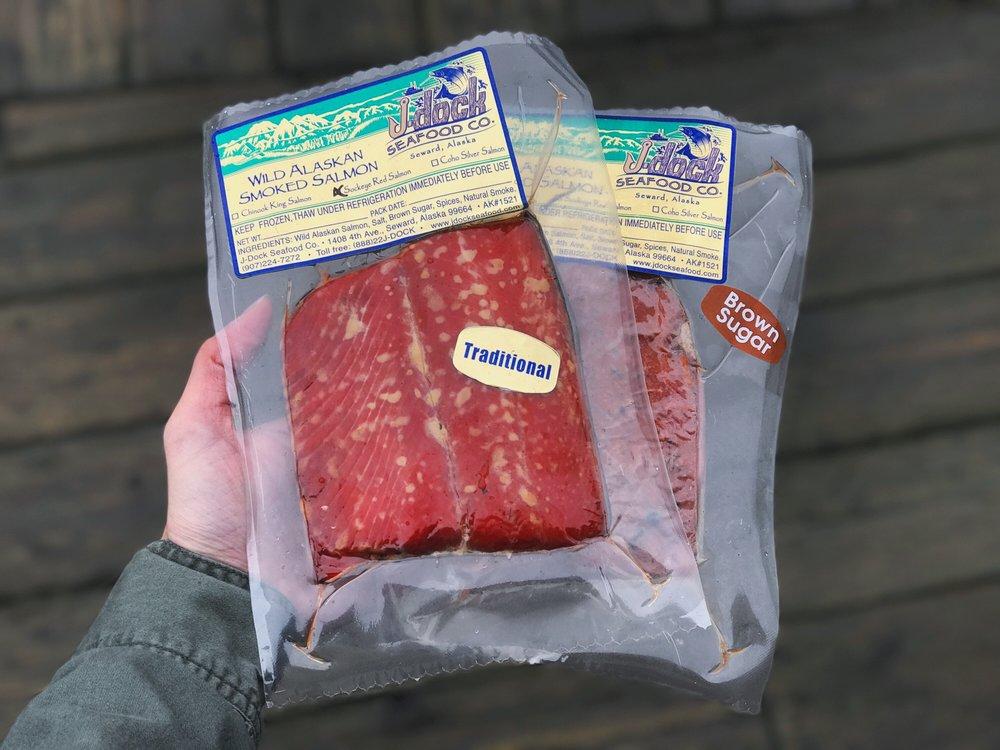 smoked sockeye salmon - $28.95/lb