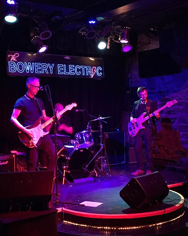 Well that was fun! Last night we played with our new drummer @robf44 and he is Moonishly amazing! Thanks to @theboweryelectric for having us! More gigs announced very soon. Cheers. The Yappy's