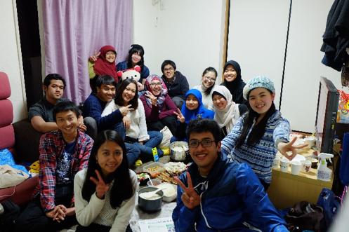 Akhir tahunan, sama orang Indonesia yang baru kenalan di Jalan secara random #truestory