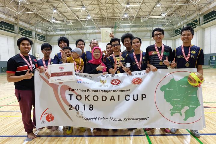 Tim Tokodai FC memenangkan Tokodai Cup tahun ini.