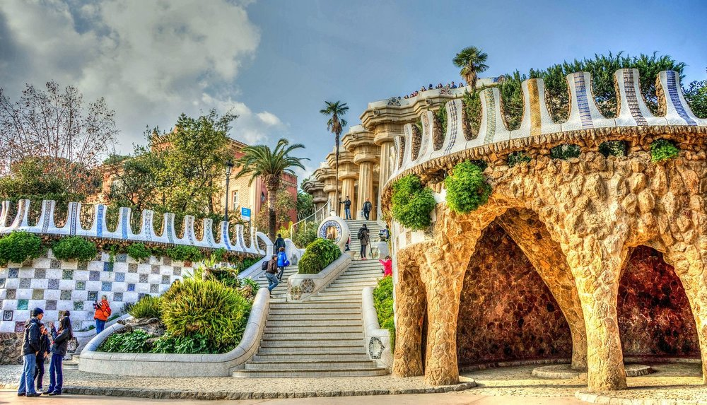 Park Guell - Located in the Gracia district of Barcelona