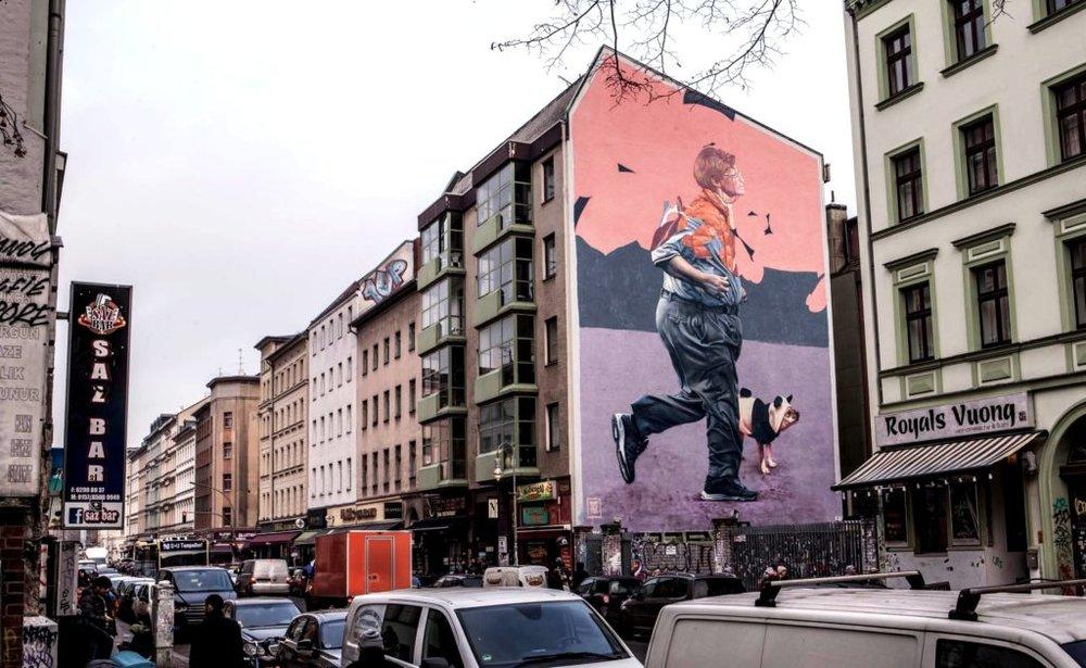 Telmomiel mural Kreuzberg