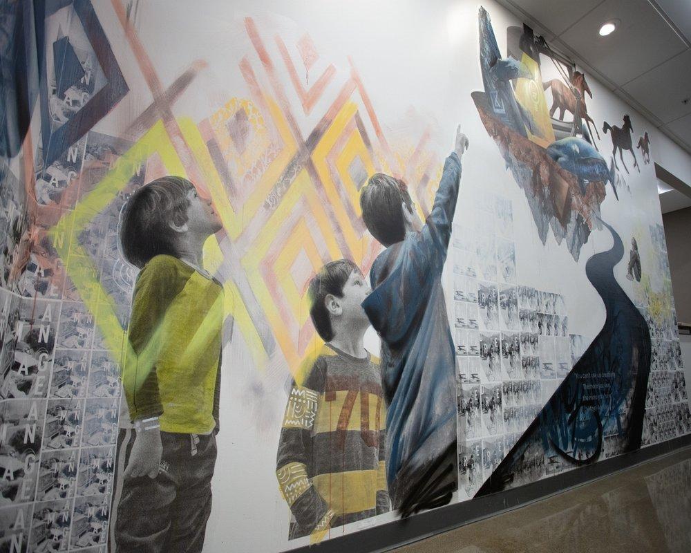 Startup Nation Murals - Birmingham, Michigan
