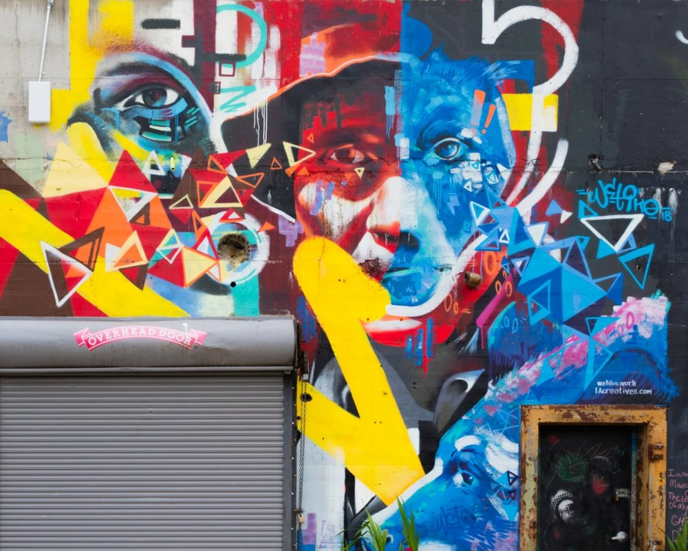 IX Art Park Mural - Charlottesville, Virginia