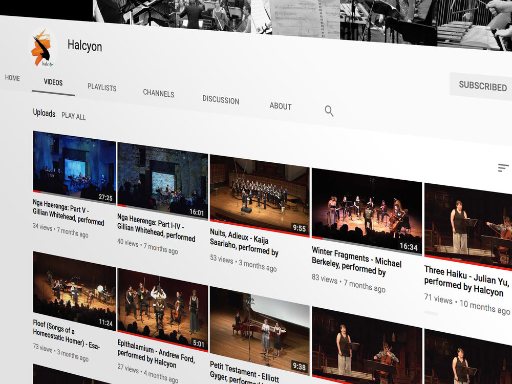 Archival Footage - Performance footage, recordings and more uploaded from the vaults on our Youtube channel