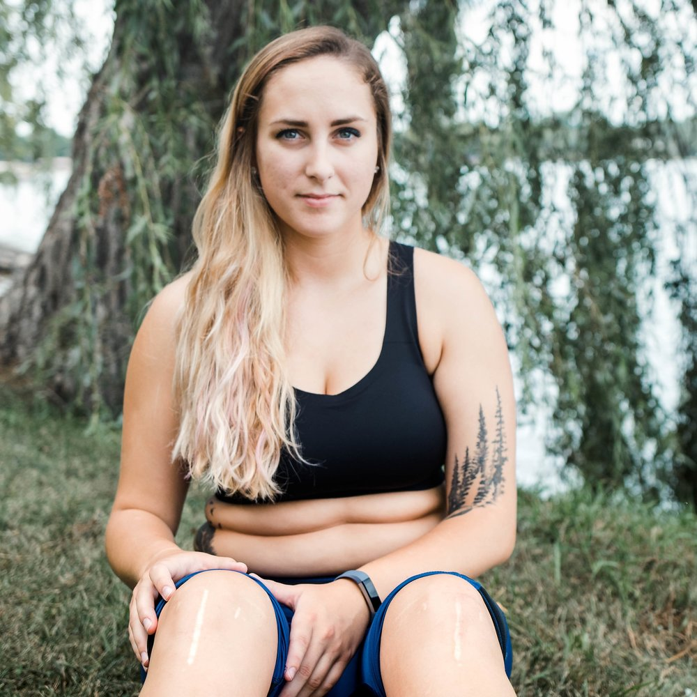 """Brittany Hoffman  """"Something I love about myself is my strength. Not necessarily the physical but mental."""""""
