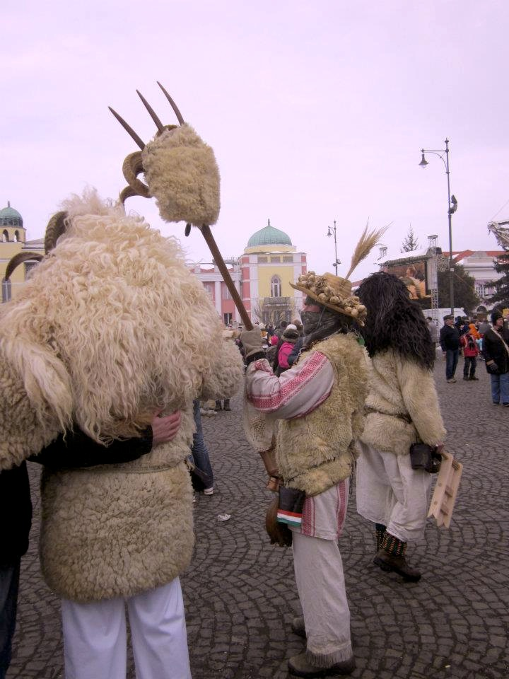 At the strange and wonderful Busos festival in Hungary