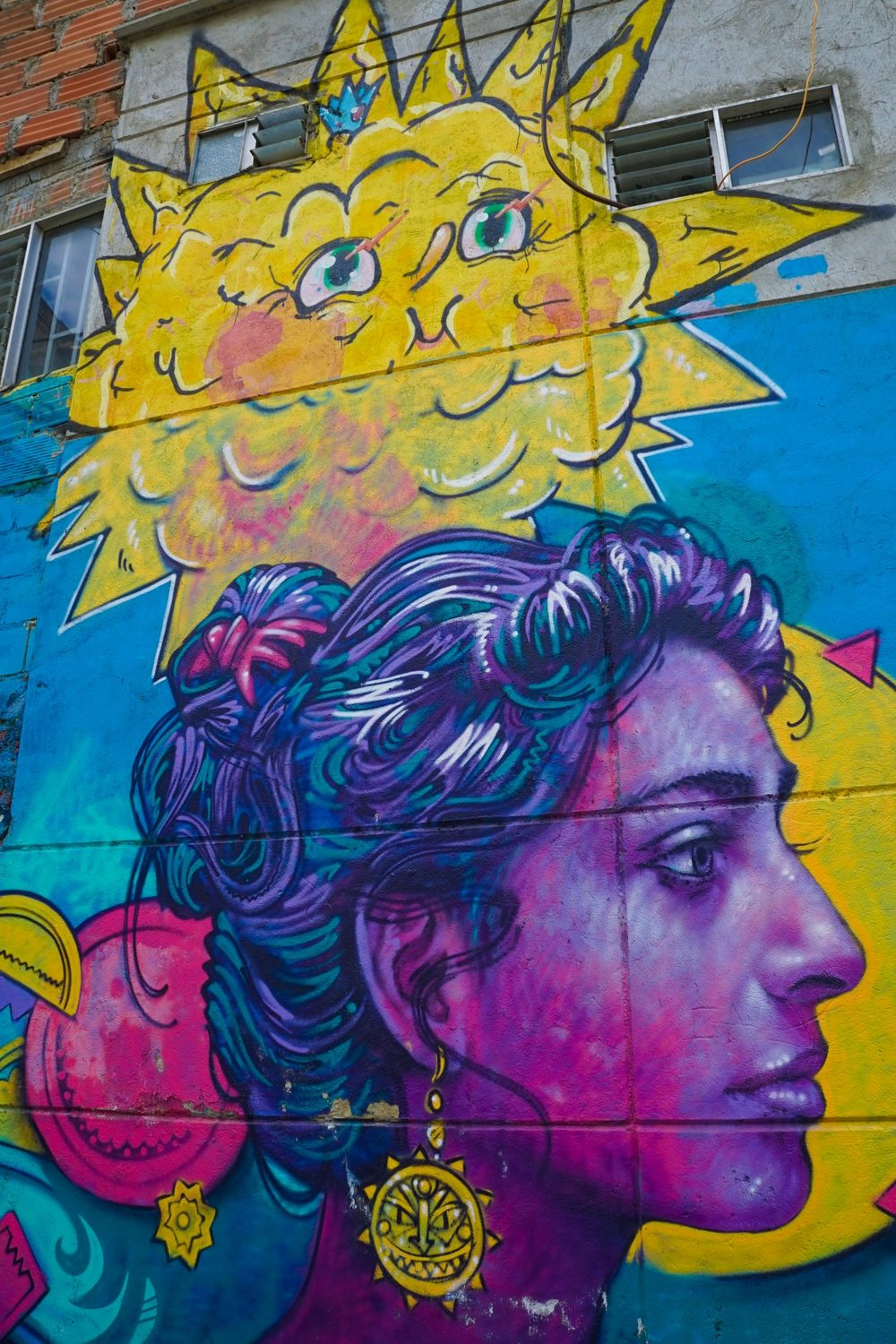 Street art from Comuna 13, from the I nspired By Maps website