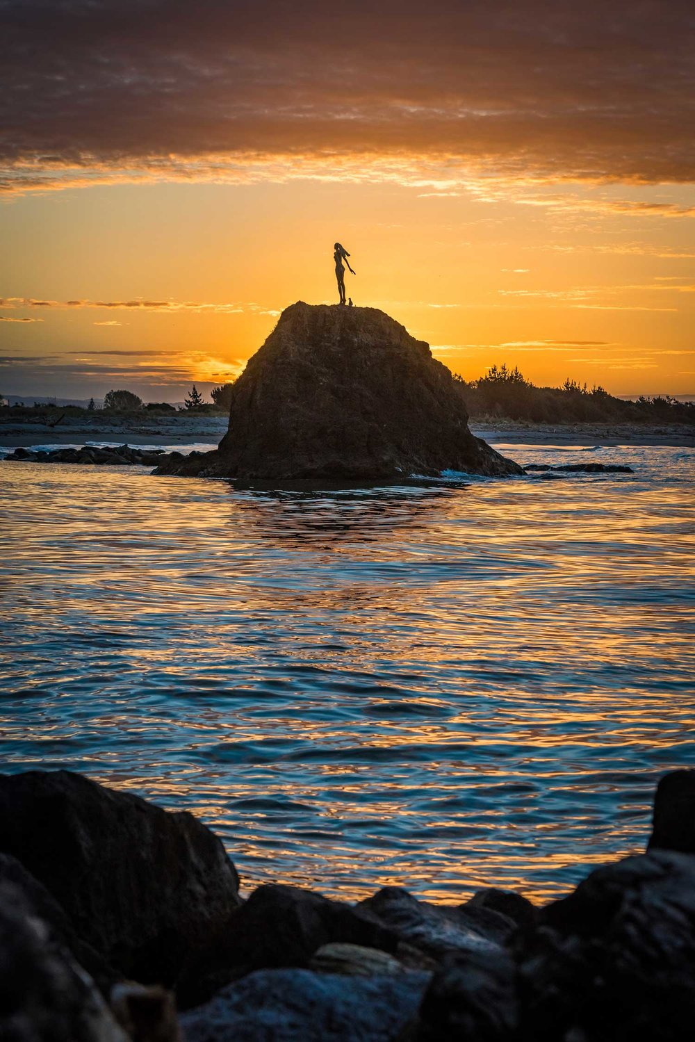 The Lady on the Rock is a popular sight in Whakatane  Photos:  James Stanbridge
