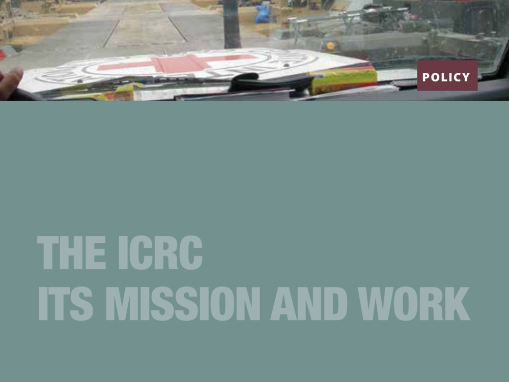 ICRC Mission and Work