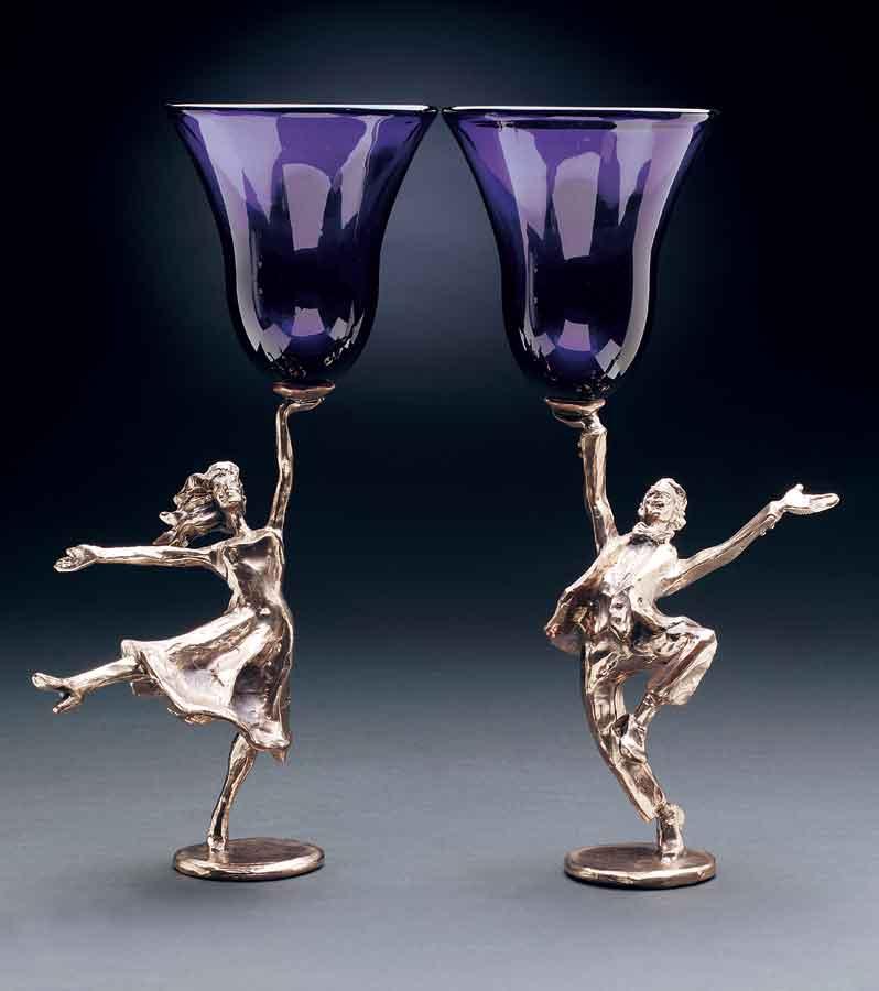 Dancing Man/Woman Goblet