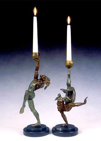 Jester Candlesticks