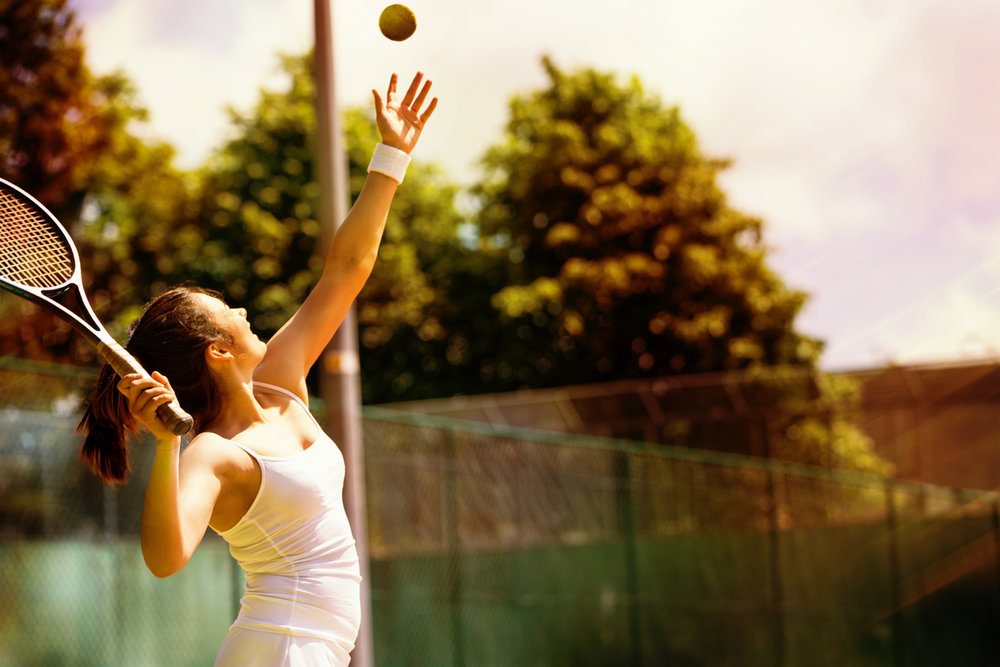 Learn to play tennis or perfect your skills    Tennis coaching sessions to suit you