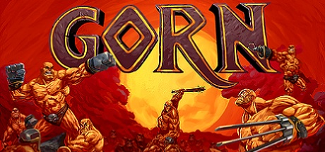 Gorn logo for use on Digital Worlds VR arcade website for their virtual reality arcade located in Franklin TN in the Cool Springs area