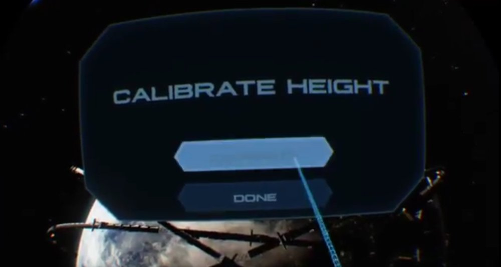 Raw Data's height calibration system.