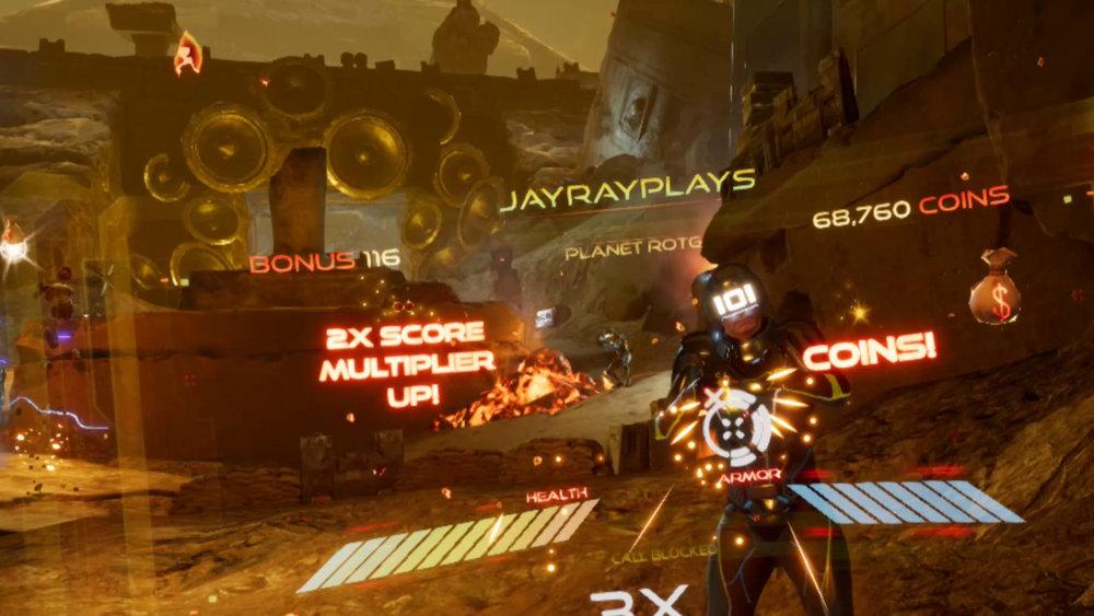 RPO Oasis Beta Rise of the Gunters Digital Worlds VR Virtual Reality Arcade Franklin TN Cool Springs