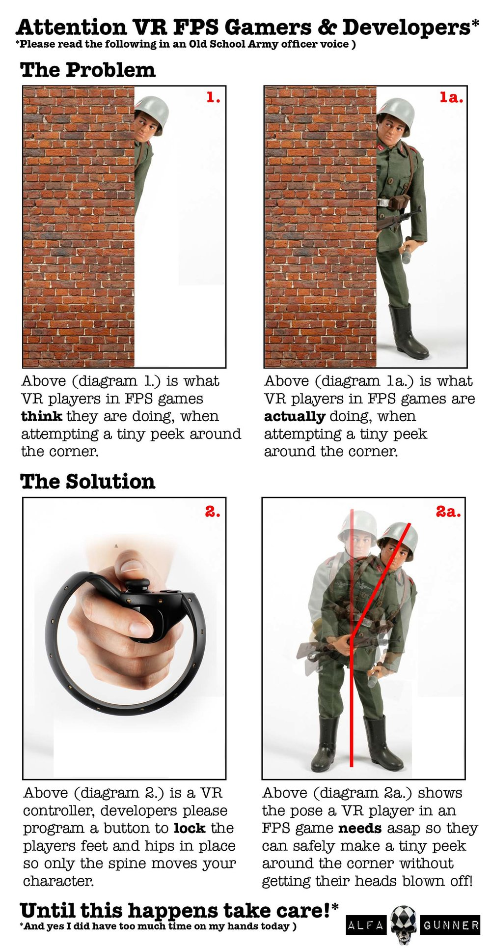 Digital Worlds Virtual Reality Arcade Blog Page Photo Showing A Problem Of Leaning In VR Games