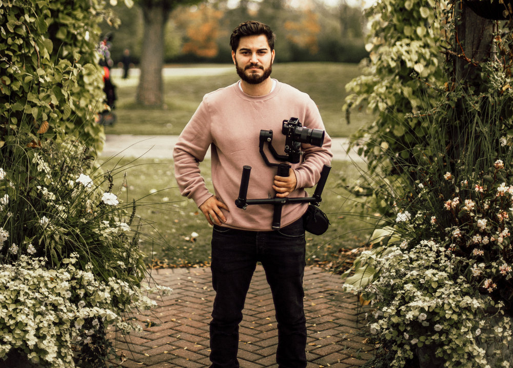 Daniele Gallone - Hi my name is Daniele Gallone and I am a professional wedding videographer. I grew up playing soccer with Brandon and then pursued a career in videography and photography. Since working with Brandon, I have done 60+ weddings and I absolutely love my clients and creating recap videos that make the hairs on your neck stand up.If you would like to see more of my work,   visit www.dmlfilms.ca!