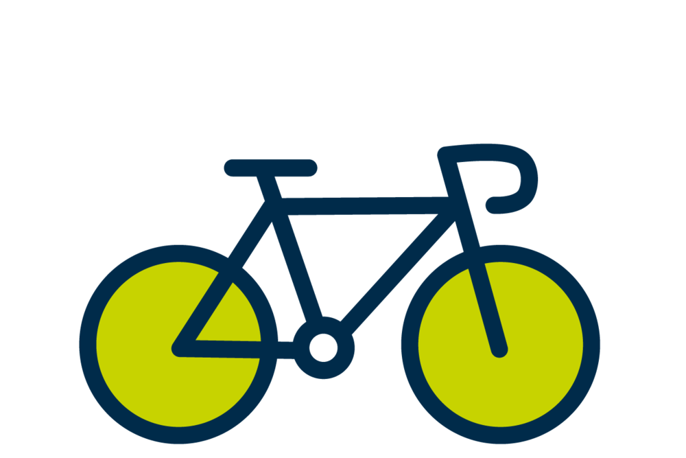 Cycling - We have a number of bike racks available