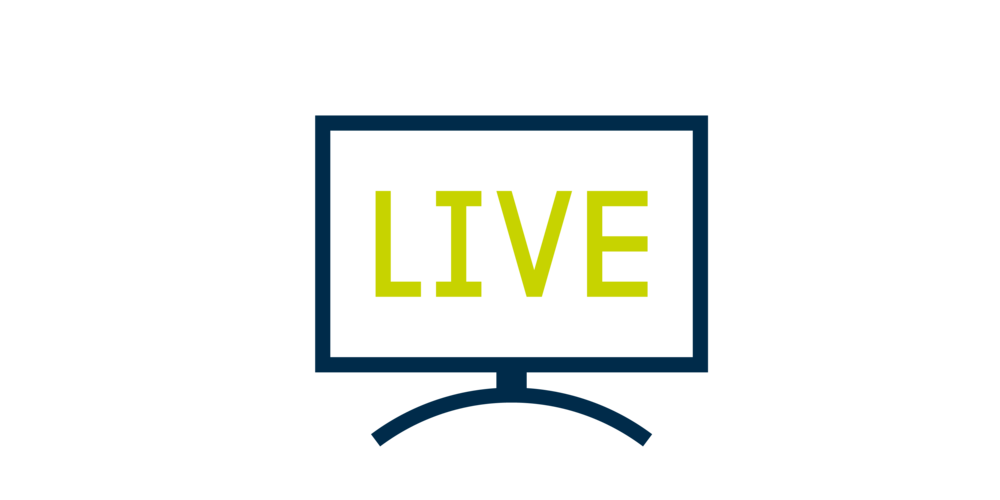 Live Sport - Shown on big screen TV's