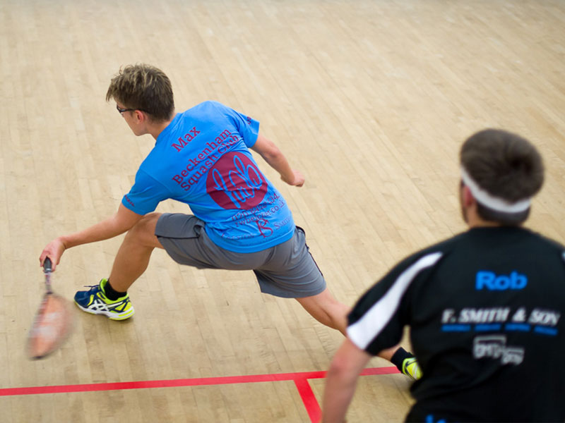 Squash Coaching - Available for adult and junior members