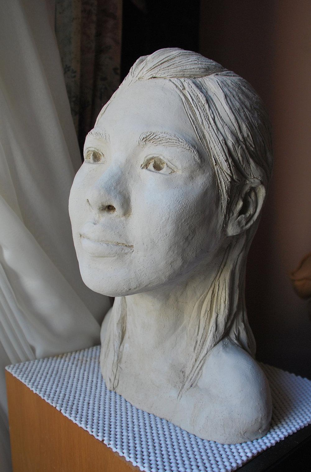 Self. Clay Sculpture.