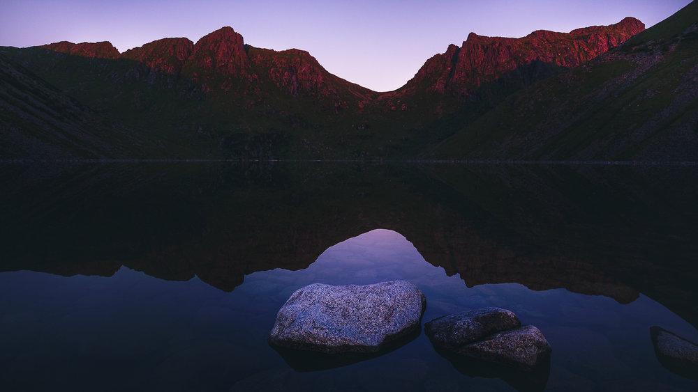 Copy of Lac Skrâdalsvatnet - Norvège - Lofoten - Unstad
