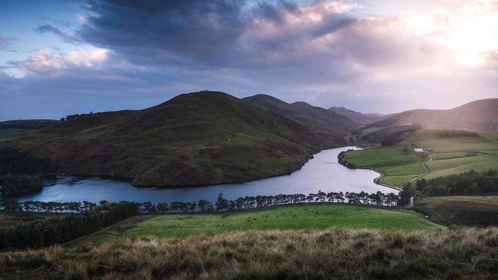 Scotland-Midlothian-Penicuik-Pentland Hill