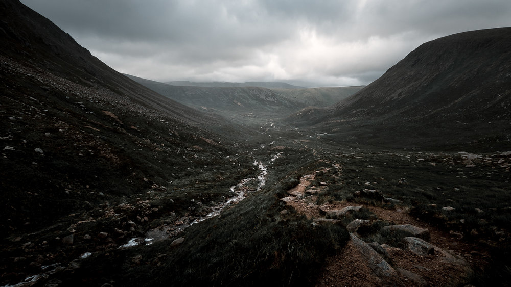 Scotland-Aberdeenshire-Braemar-Cairngorms