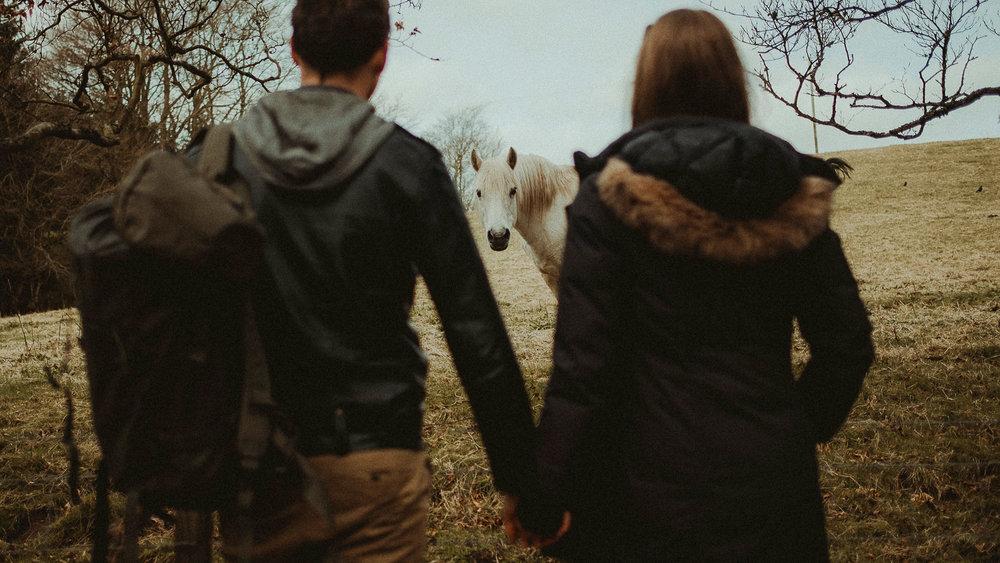 Scotland-Midlothian-Penicuik-Shooting with Taryn and Ewan