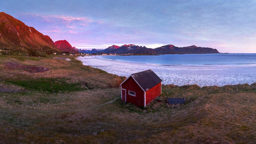 Paysage des îles Lofoten