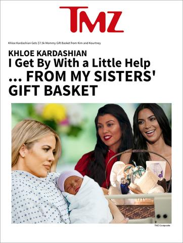 Erbaviva - We're told the care package includes a full arrangement of Erbaviva's organic Awaken, Embrace, Breathe and Relax bath and body products to pamper both mom and baby ...costing about $1,000.http://www.tmz.com/2018/04/13/khloe-kardashian-mommy-gift-basket-kim-kourtney/