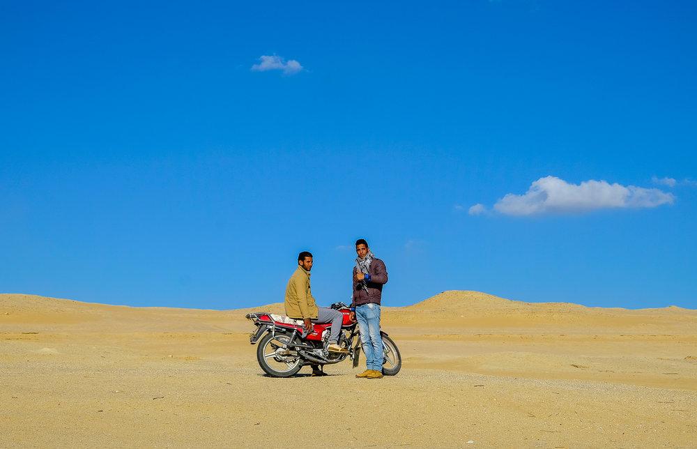 """""""Desert Hipsters"""" ~ Sahara Desert,Egypt 2016"""