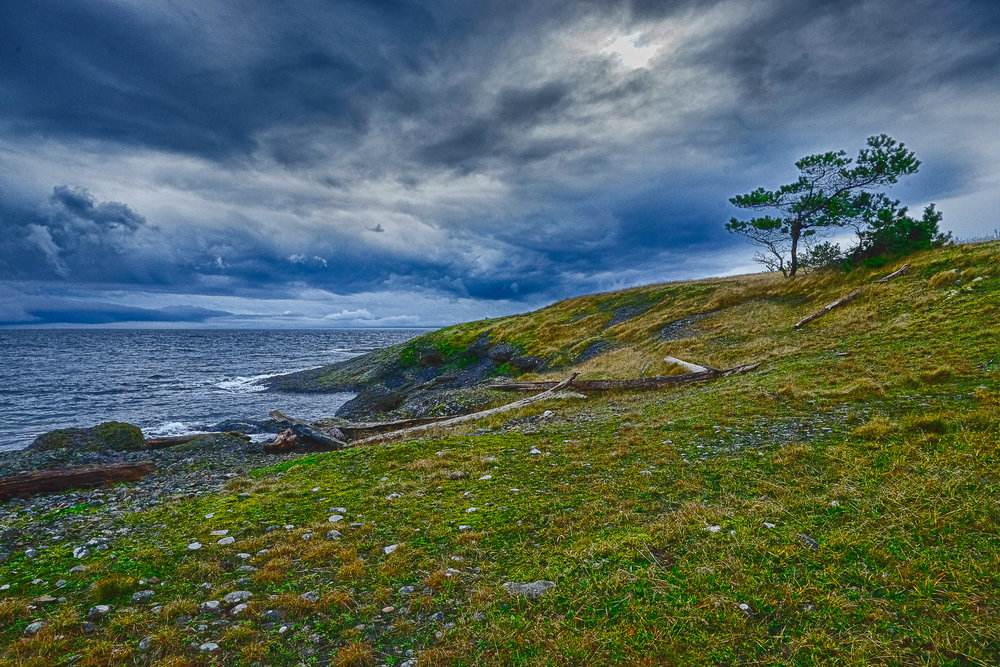 """Coming Storm"" ~ Hornby Island British Columbia"