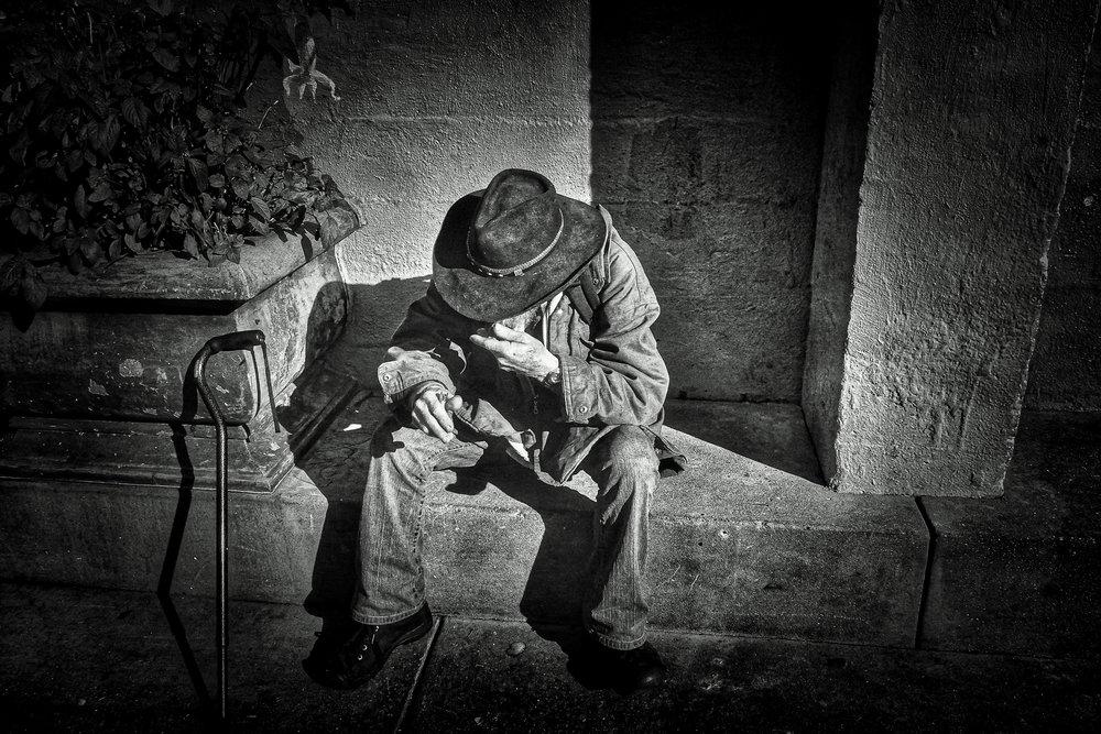 """""""Lonesome Stranger"""" ~ Santa Cruz, California 2017"""