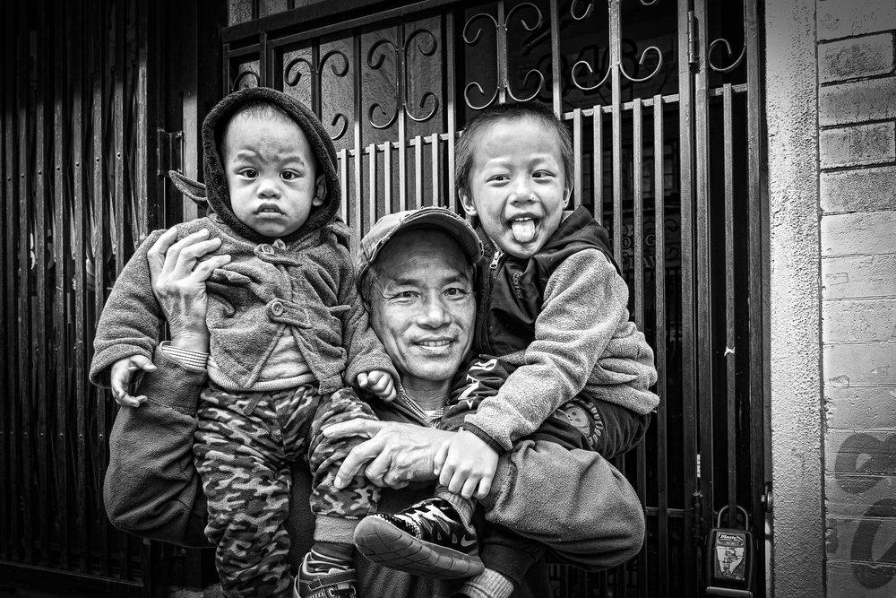"""Baby Headphones""~Chinatown, San Francisco 2018"