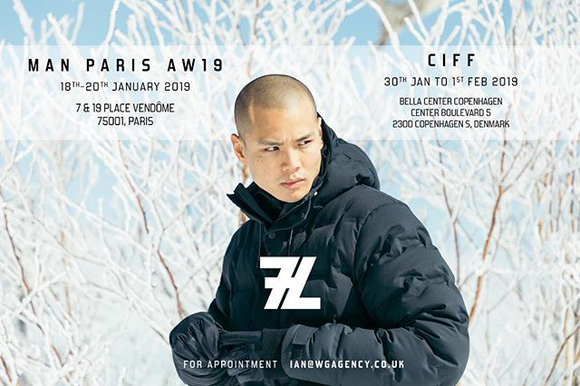 Our new 'TREK' System will be revealed at Man Show Paris on 18th - 20th January 2019 and CIFF Copenhagen on 30th - 1st February 2019 @manwomanshows @ciff_showrooms #techwear #outerwear #extreme #extremeweather #artic #7layersystem #7L #fashion #tech #technicalfabrics #technicalfabric @barneysny @bergdorfs @hushlifeboutique @theofficialselfridges @matches_man @isetanmens @nomadboutique