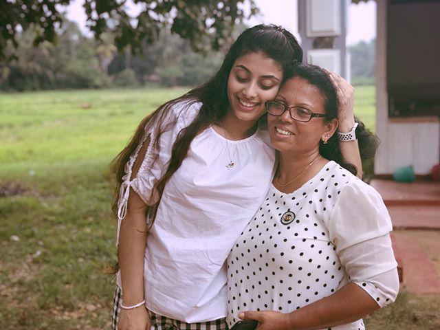 Mage Chuti Punchi 🙈❤️ #aunt #srilanka #bestfriend @gayan_s.flashback